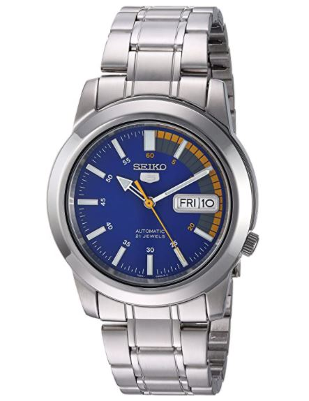 Seiko 5 Automatic Watch with Stainless Steel