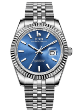Best Sweeping Watch with Stainless Steel Band